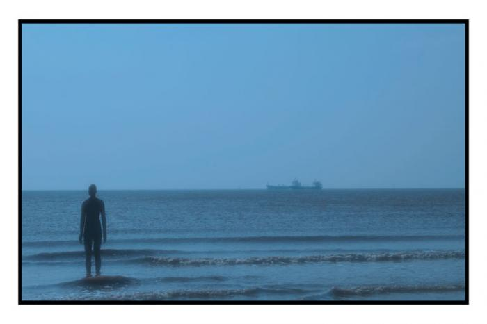 Into the blue, Another Place, Crosby Beach