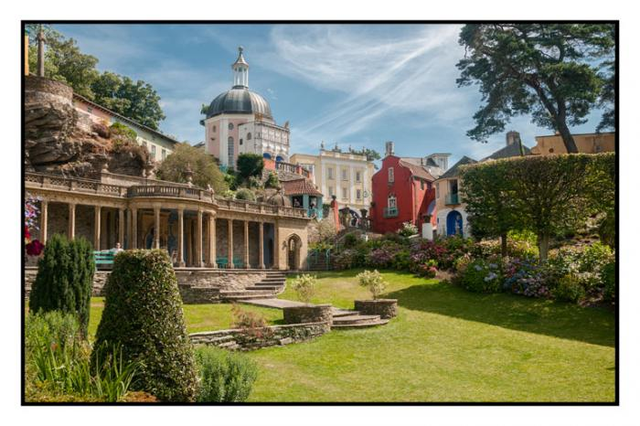 The Village of Portmeirion, North Wales