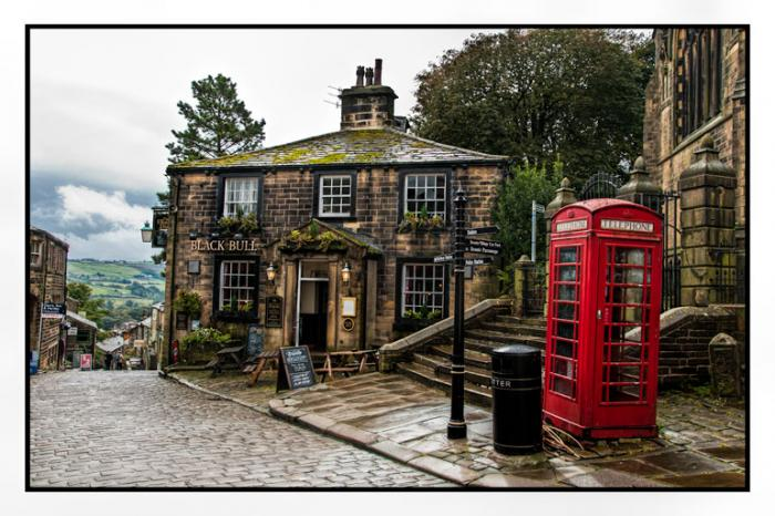 The Black Bull, Haworth Main Street