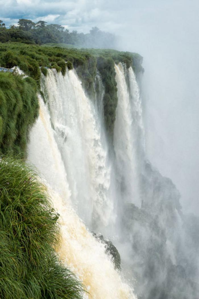 The power of Iguazu Falls, Misiones Province