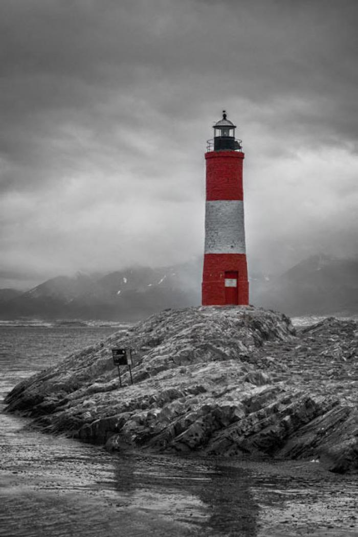 Les Eclaireurs Lighthouse, Beagle Channel, Tierra del Fuego