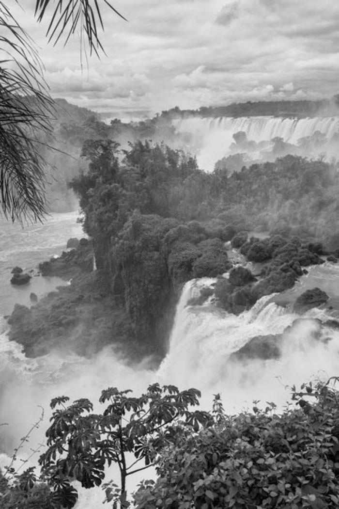 Iguazu Falls from above, Misiones Province, Argentina