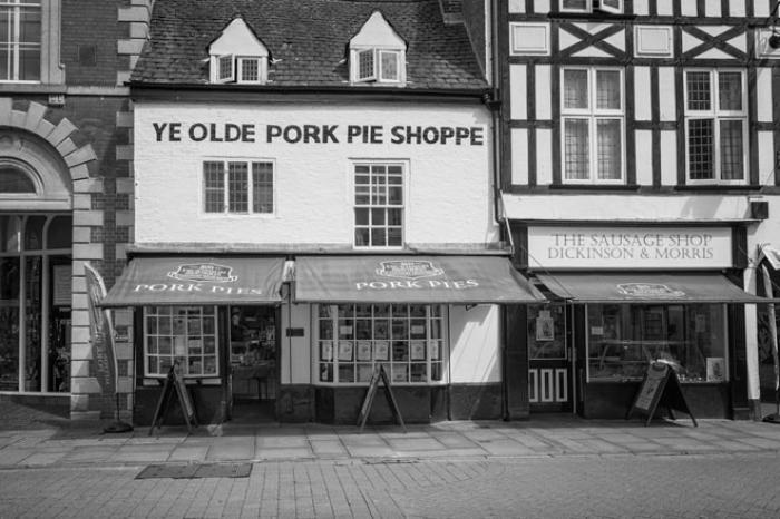 c335b710d11a5 Flower photography - Ye Olde Pork Pie Shoppe, Melton Mowbray ...