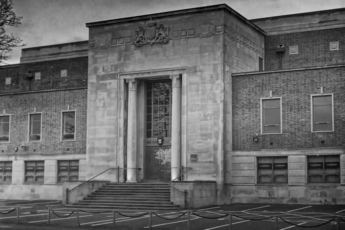 The former Law Courts, Southport