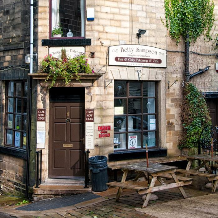 Old World Fish and Chip Shop, Haworth, West Yorkshire