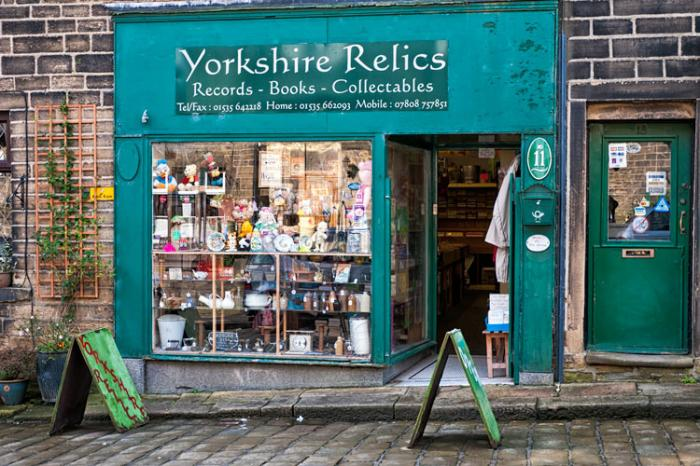 Yorkshire Relics, Haworth, West Yorkshire