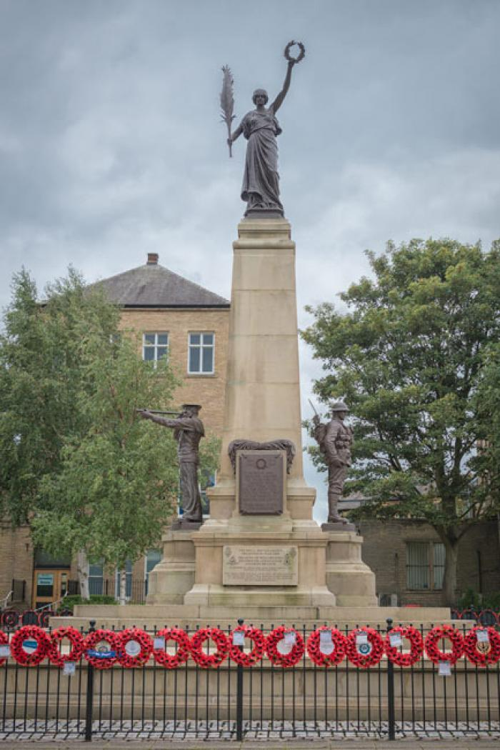 Keighley War Memorial, West Yorkshire