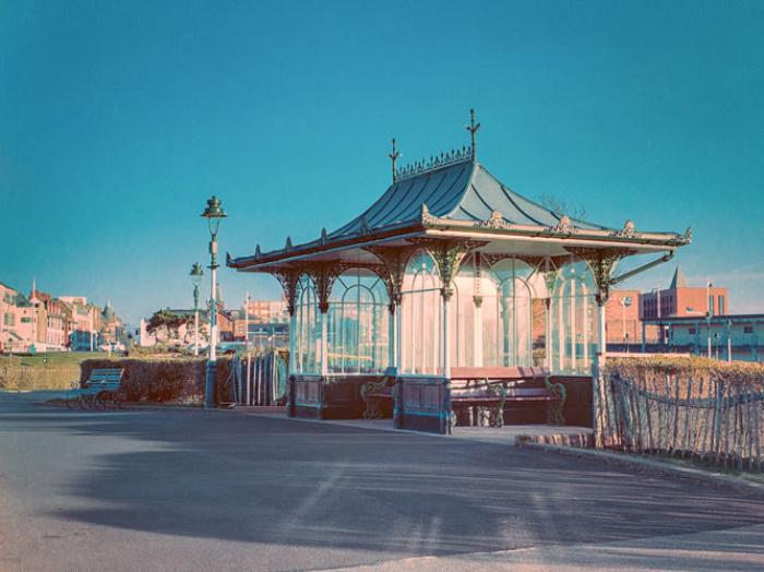 Restored Victorian Shelter, Kings Gardens, Southport