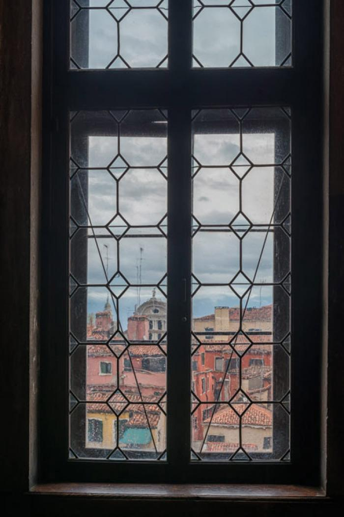 View from a window, Doge's Palace, Venice